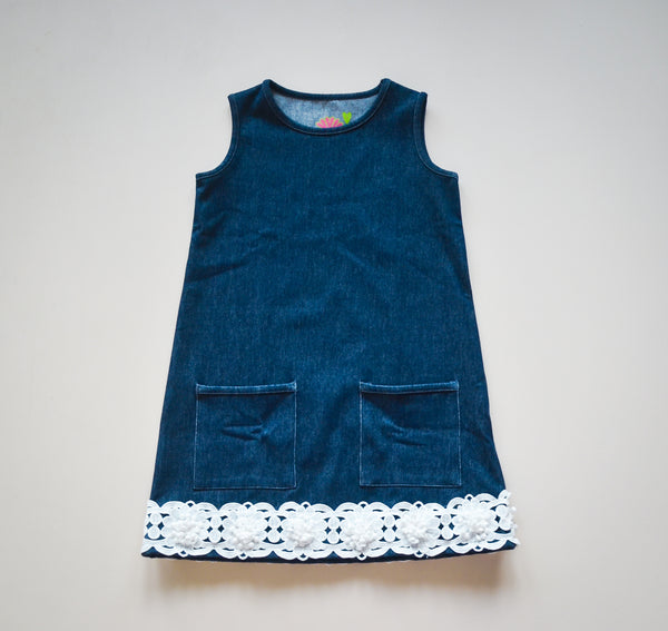 Denim Pollyanna Tank Dress