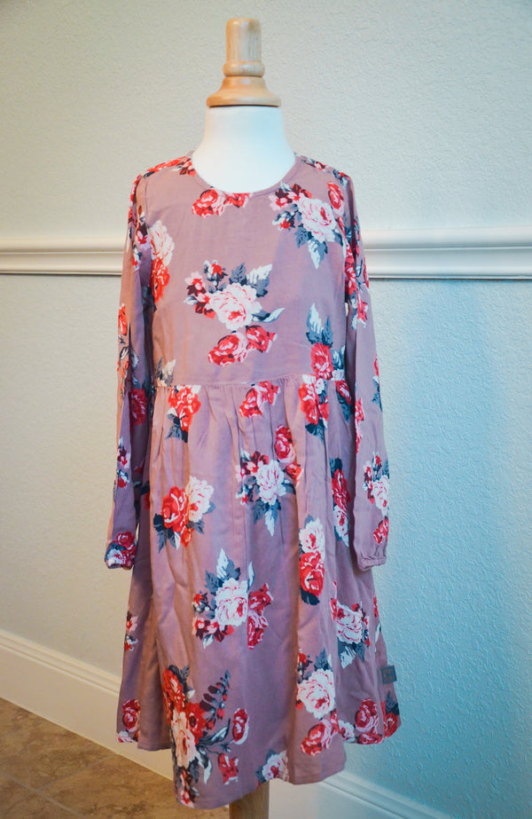 Mauve Rose Dress