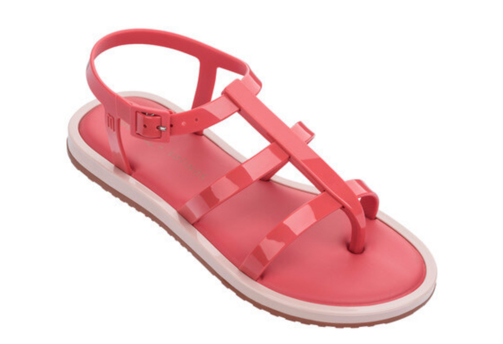 Melissa Caribe Verao + Salinas (Red and Pink)