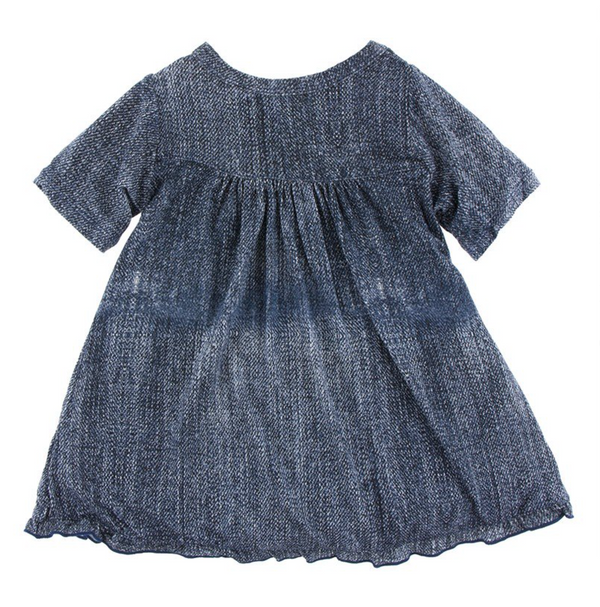 Kickee Pants Classic Swing Dress Denim