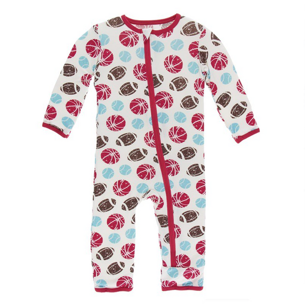 Kickee Pants Coverall Sports