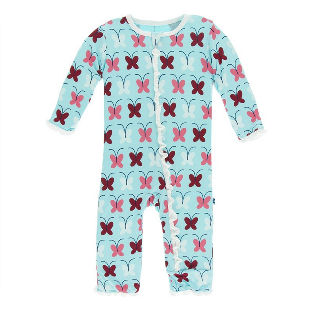 Kickee Pants Coverall Tallulah Butterfly