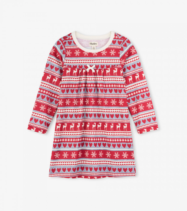 Fair Isle Nightdress