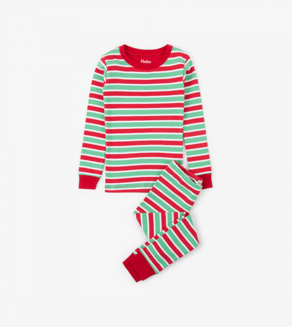 Holiday Stripe Pajamas