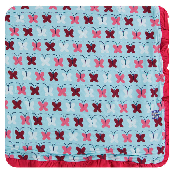 Kickee Pants Toddler Blanket Tallulah Butterfly