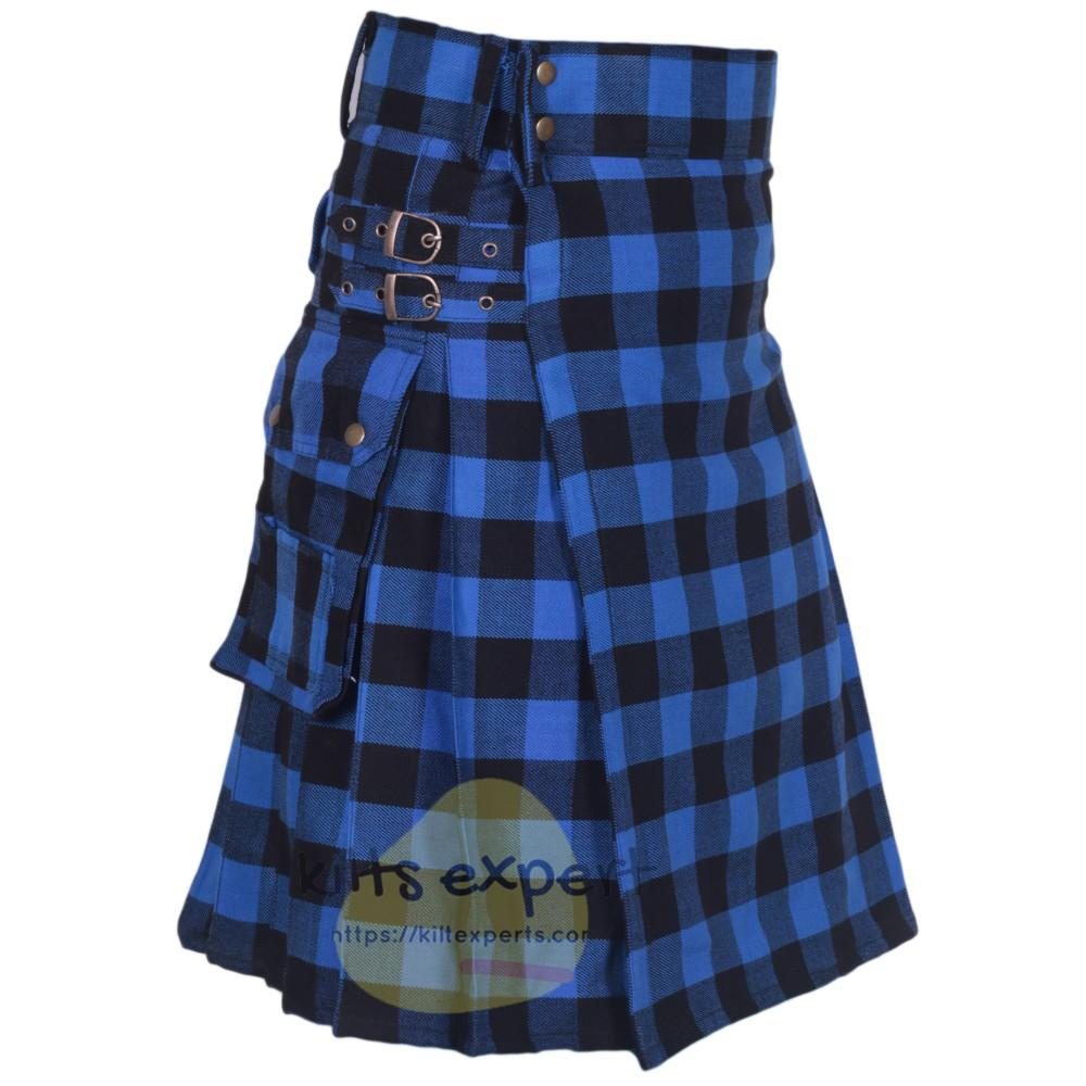 American Patriot Acrylic Wool Heavy 16Oz Utility Kilt - Kilt Experts