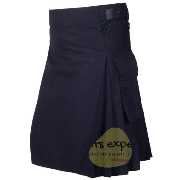 Best Modern Leather Straps Kilt For Active Men's - Kilt Experts