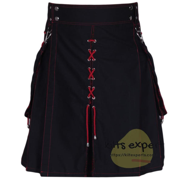 Black & MacDonald Hybird Kilt With New Look Kilt Experts
