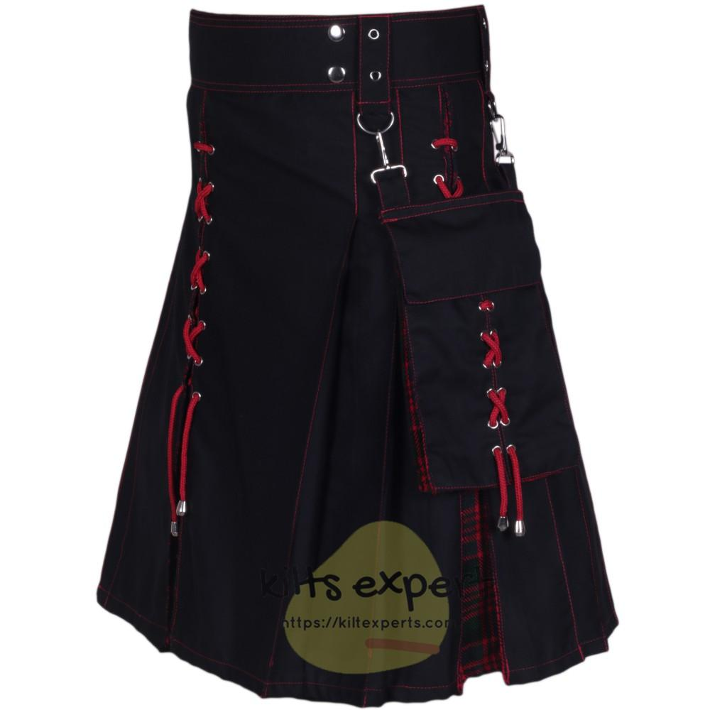 Black & MacDonald Hybird Kilt With New Look