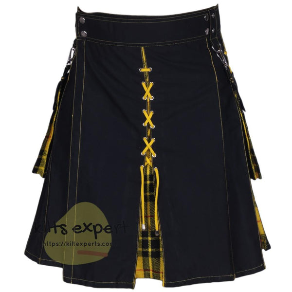 Black & Macleod Of Lewis Hybird Kilt With New Look Kilt Experts