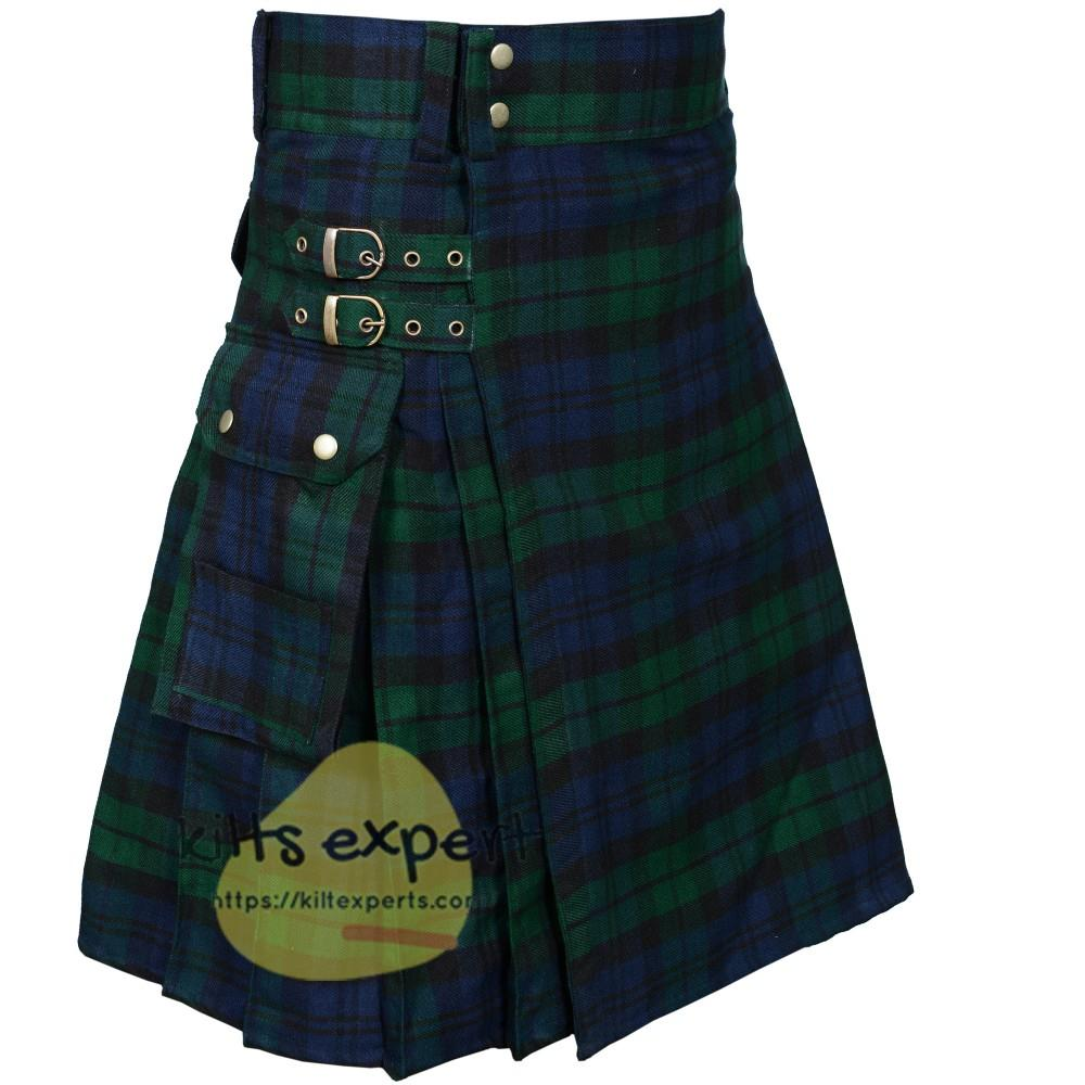 Black Watch Heavy 16Oz Utility Kilt