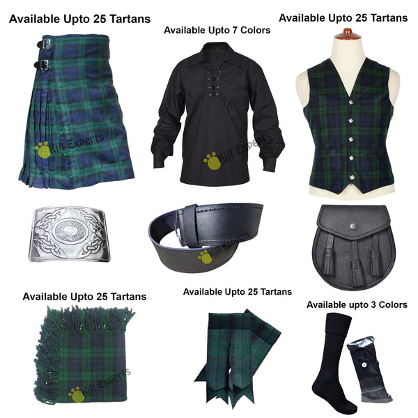 Complete Outfit Wedding Kilt Deal - Kilt Experts