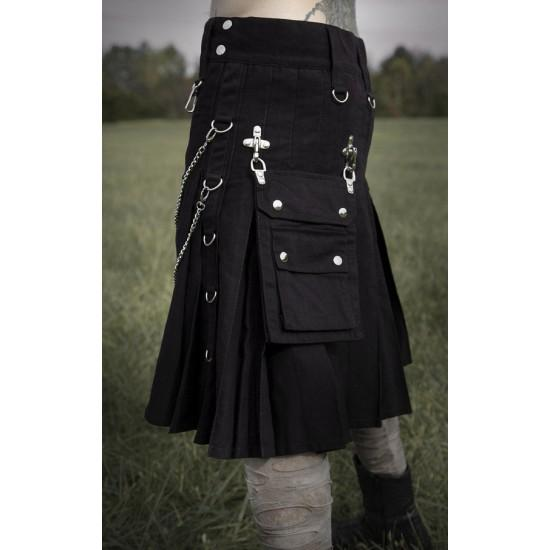 Fashionable Wedding Dress Utility Kilt With Chain - Kilt Experts