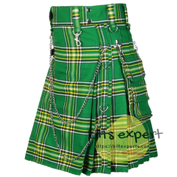 Irish heritage Acrylic Wool Stud Kilt For Men - Kilt Experts