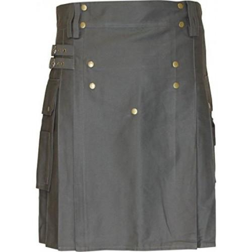 Modern Five Button Utility Kilt For Men - Kilt Experts