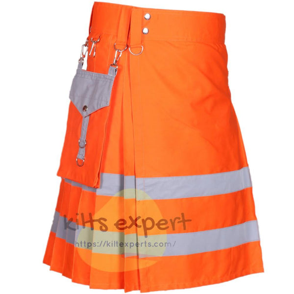 Modern Working Reflective Kilt - Kilt Experts