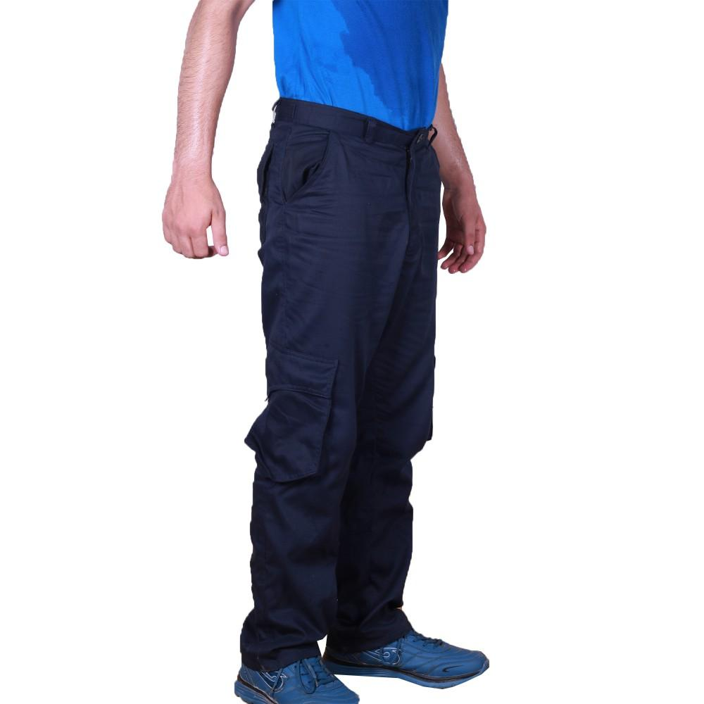 Navy Blue Cargo Pant For Work