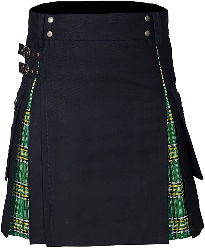 New Wedding Stylish Irish heritage Hybird Kilt For Men's