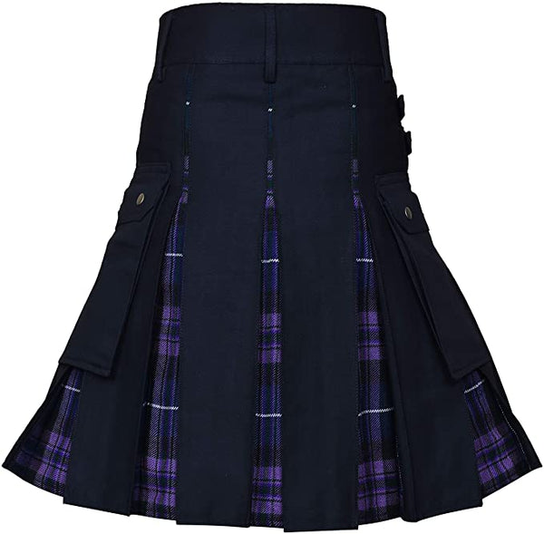 New Wedding Stylish Pride Of Scotland Hybird Kilt For Men's Kilt Experts