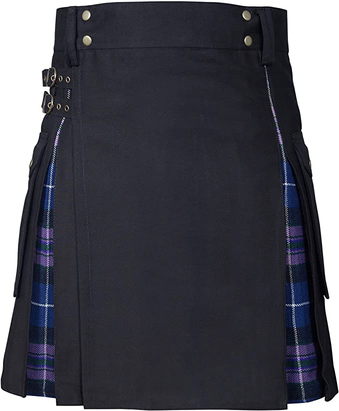 New Wedding Stylish Pride Of Scotland Hybird Kilt For Men's
