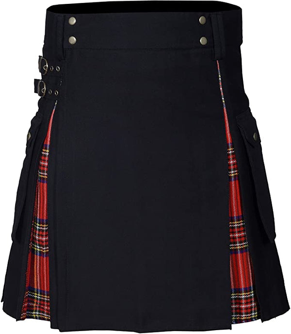 New Wedding Stylish Royal Stewart Hybird Kilt For Men's - Kilt Experts