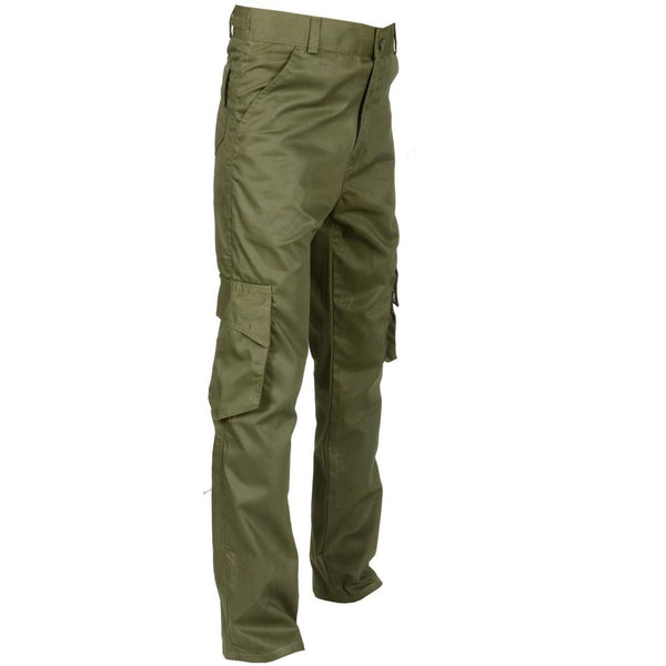Olive Green Cargo Pant For Work - Kilt Experts