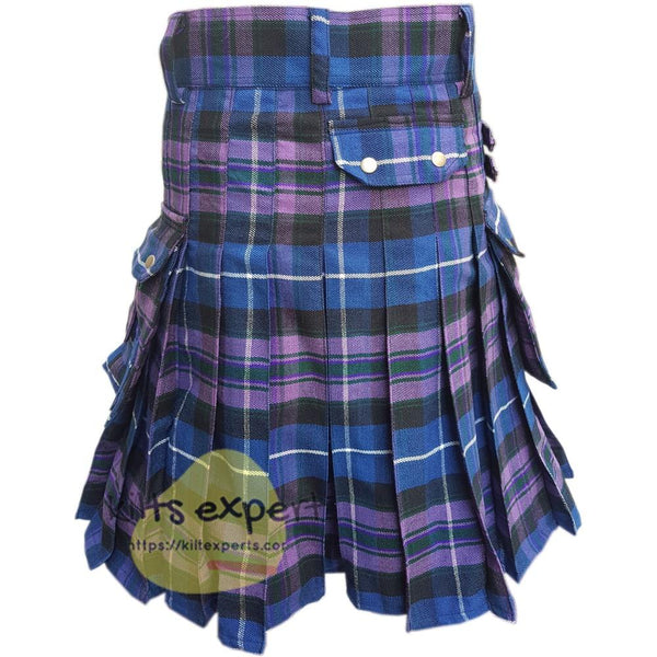 Pride Of Scotland Heavy 16Oz Tartan Utility Kilt - Kilt Experts