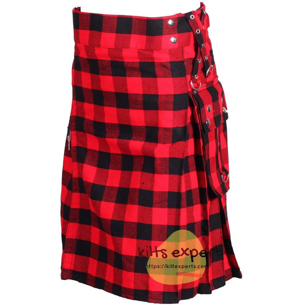 Rob Ray Tartan Gothic Zipper Utility Kilt Kilt Experts