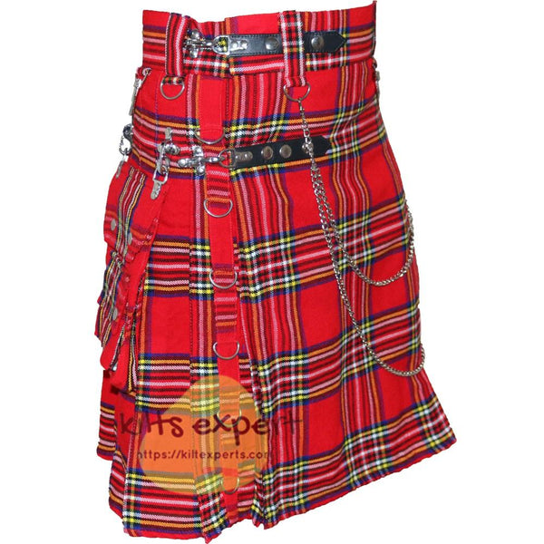 Royal Stewart Heavy 16Oz Stud Kilt Kilt Experts