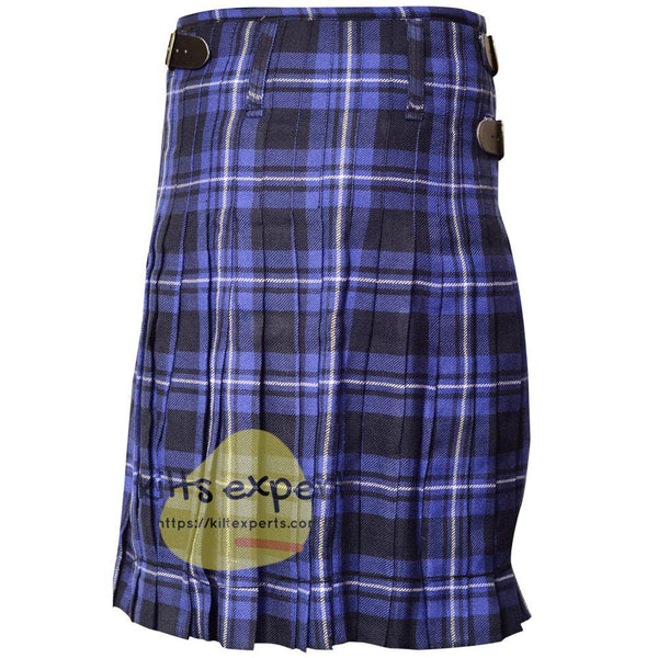 Scottish Traditional American Patriot 8 Yard & 13oz Tartan Kilt - Kilt Experts
