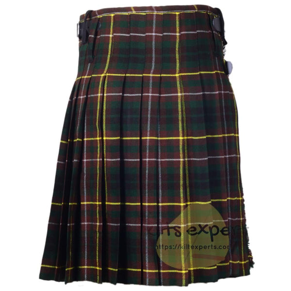 Scottish Traditional Buchanan Hunting 8 Yard & 16 oz Tartan Kilt Kilt Experts