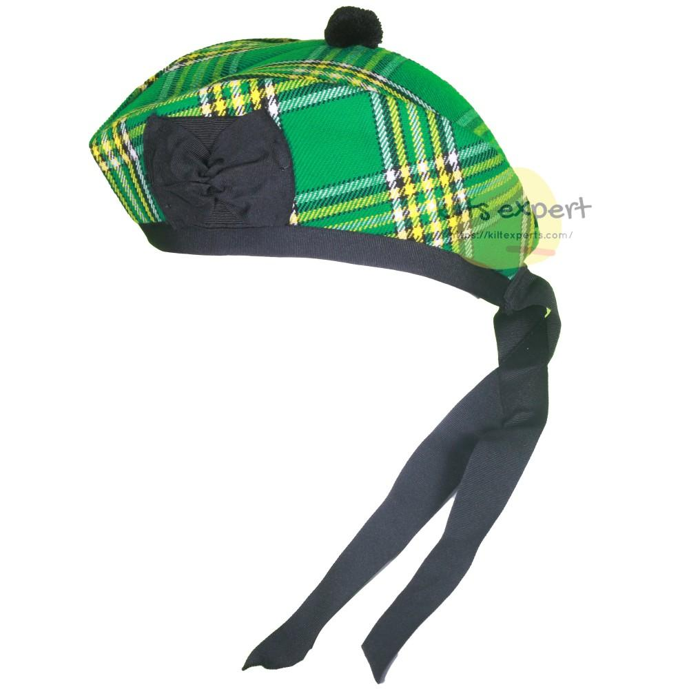 Scottish Traditional Irish Heritage Glengarry Hat