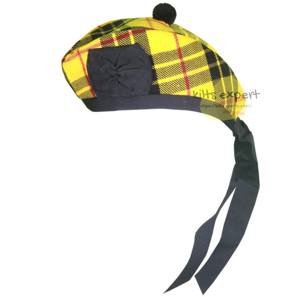 Scottish Traditional Macleod Of Lewis Glengarry Hat - Kilt Experts