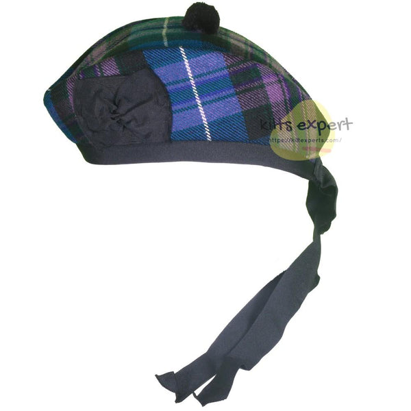 Scottish Traditional Pride Of Scotland Glengarry Hat - Kilt Experts