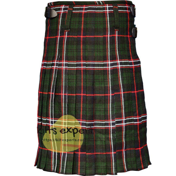Scottish Traditional Scottish National 8 Yard & 13oz Tartan Kilt - Kilt Experts