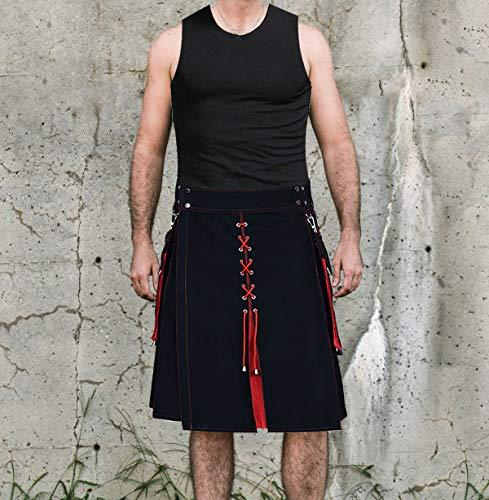 Utility Kilt Hybrid Modern 100% Cotton Jeans Kilt New For Men's - Kilt Experts