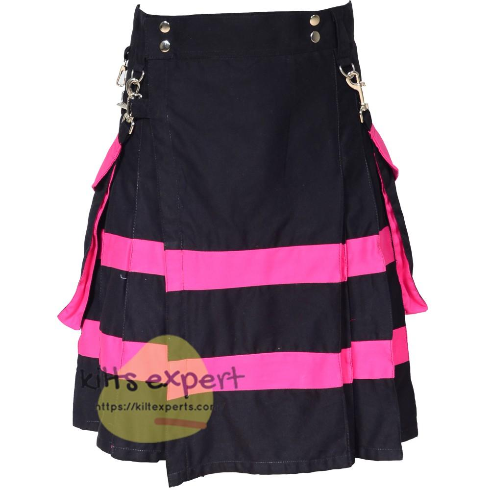 Women Utility kilts With Two Large Pockets