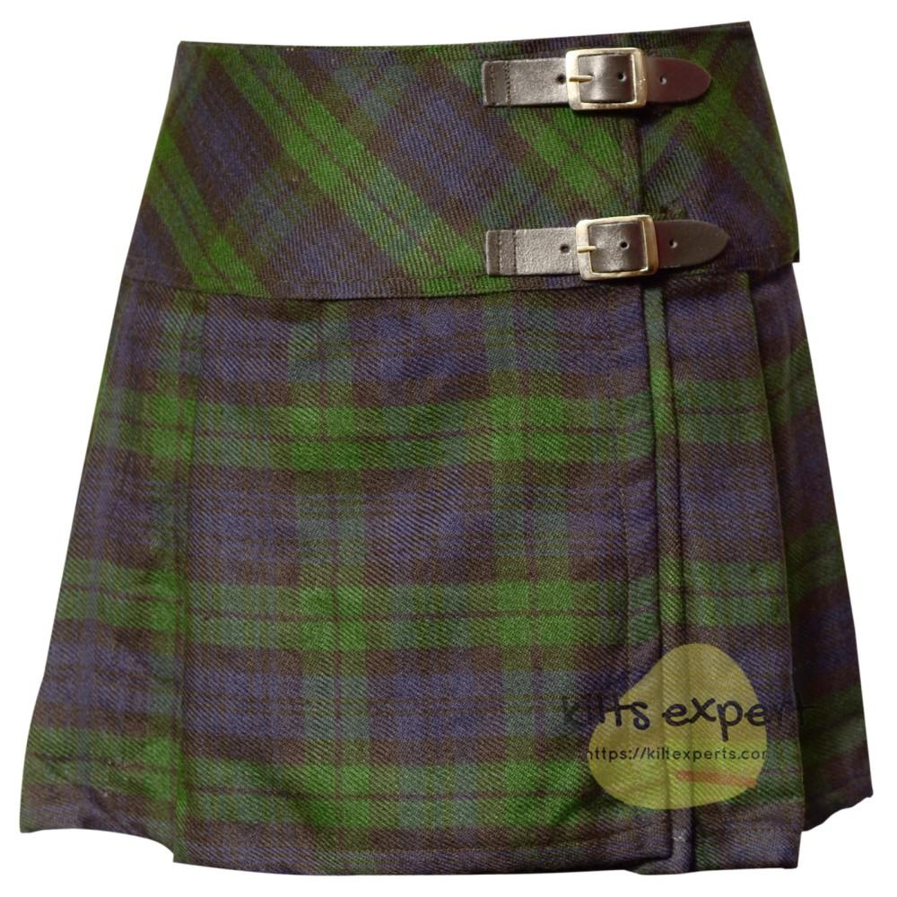 Women's Black Watch Tartan Kilts