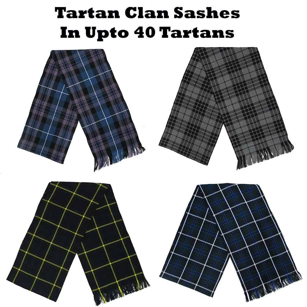 Women's Tartan Clan Sashes