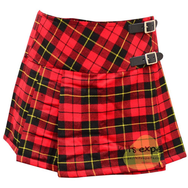 Women's Wallace Tartan Kilts - Kilt Experts
