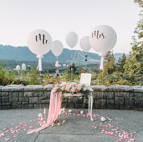 Anniversary/ Wedding Balloons