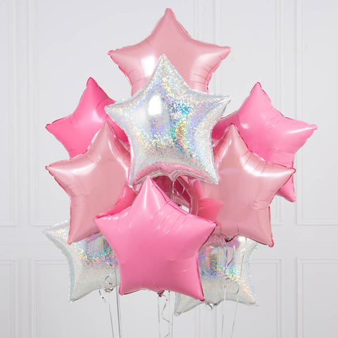 shop star foil mylar balloons in burnaby