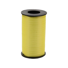 316 Poly Curling Ribbed Ribbon Dafodil