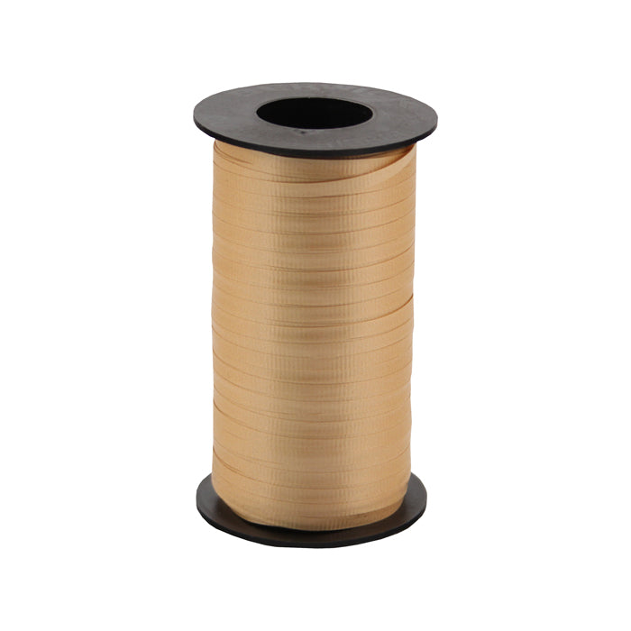 316 Poly Curling Ribbed Ribbon Gold