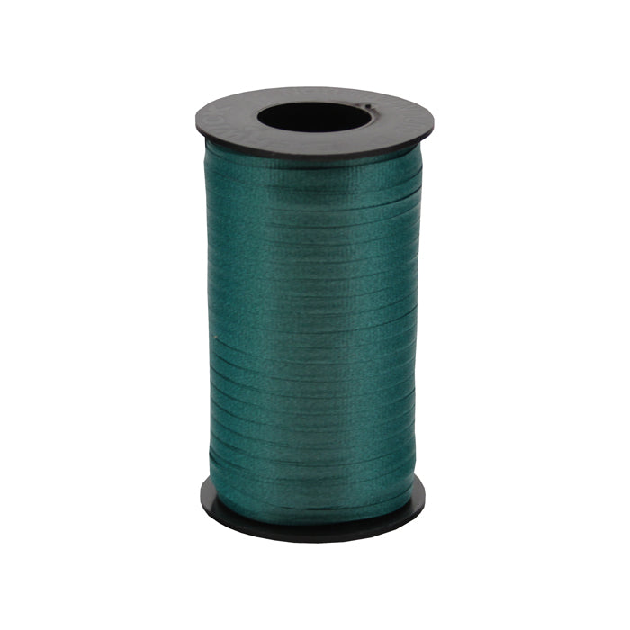 316 Poly Curling Ribbed Ribbon Hunter