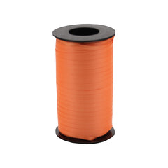 316 Poly Curling Ribbed Ribbon Orange