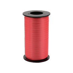 316 Poly Curling Ribbed Ribbon Red