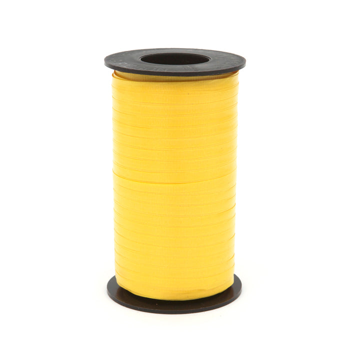 316 Poly Curling Ribbed Ribbon Sunshine