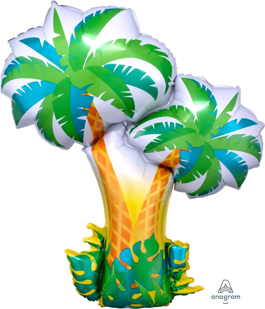 Tropical Palm Trees Supershape Balloon