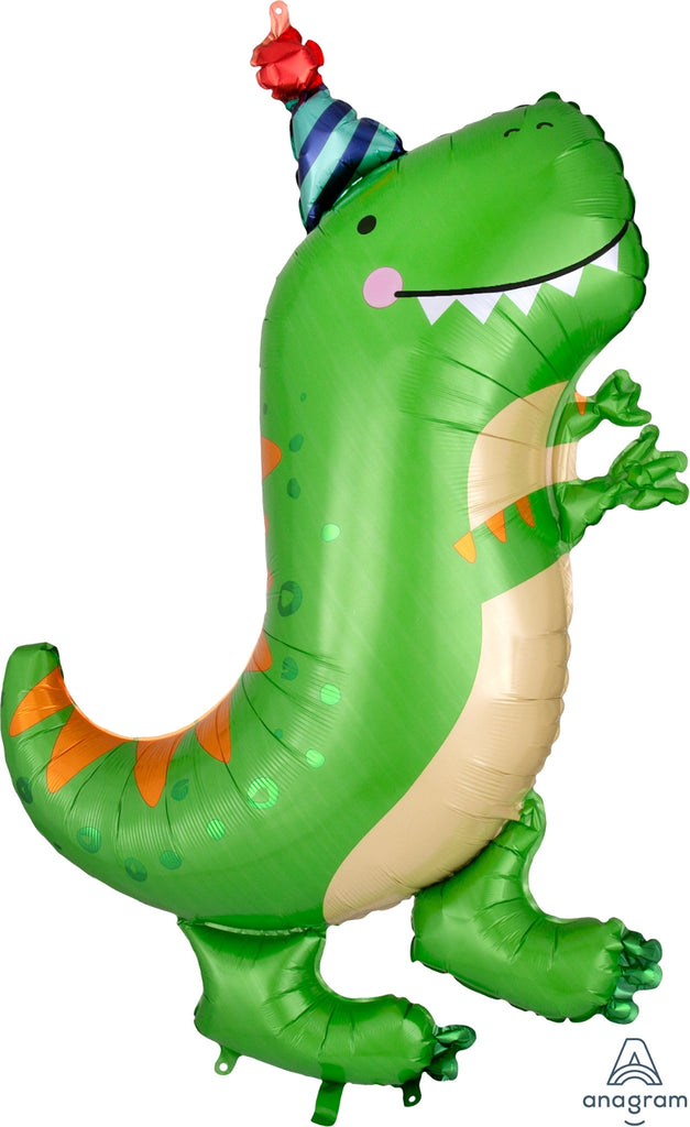 Dinomite T-Rex Supershape Balloon
